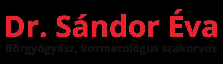 Dr. Sándor Éva Bőrgyógyász, kozmetológus szakorvos